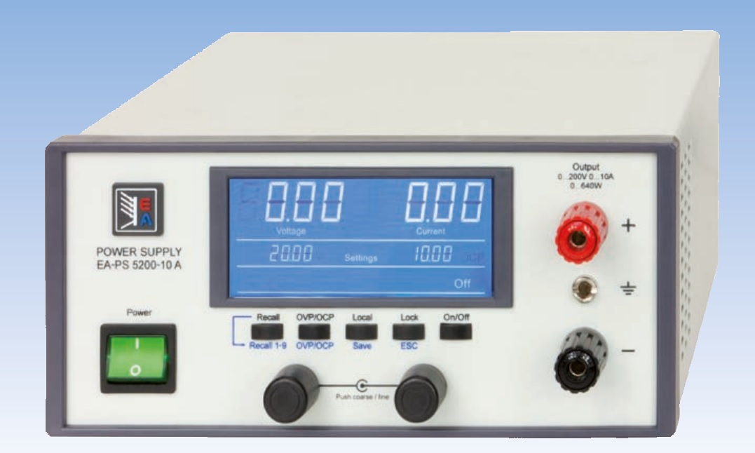 Laboratory DC Power Supplies