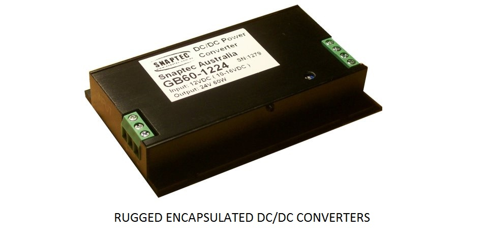Rugged Encapsulated DC/DC Converters