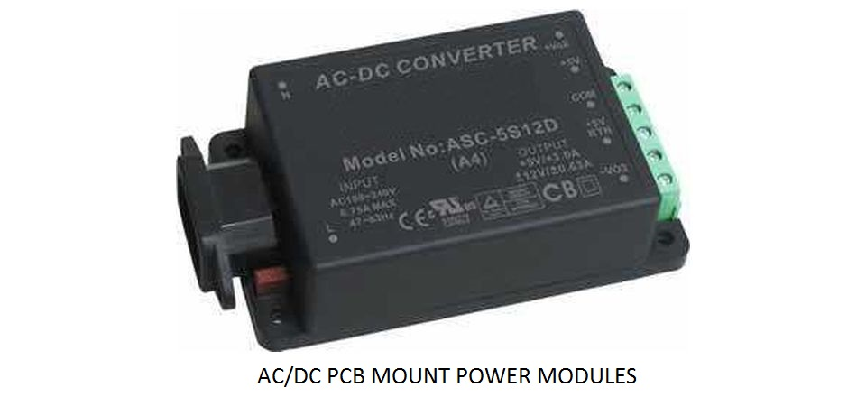 AC/DC PCB Mount Power Modules