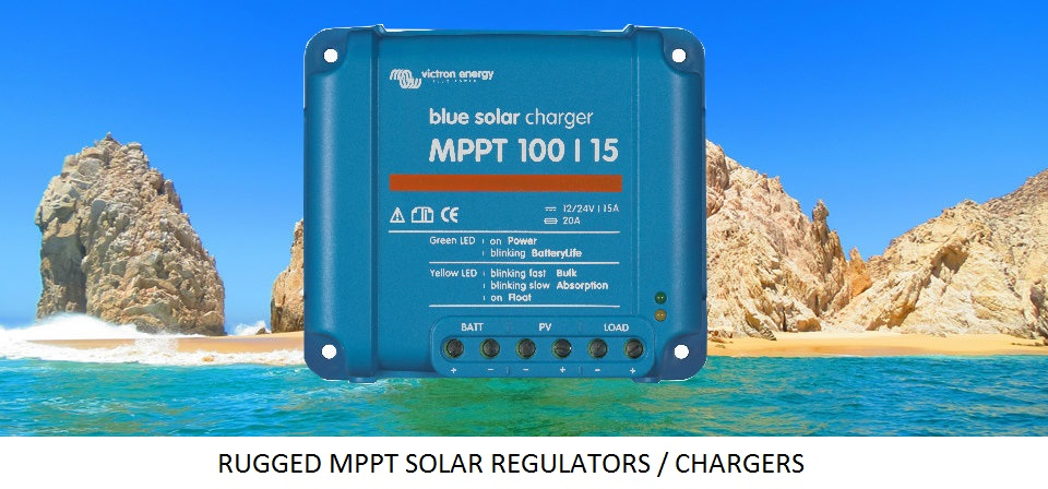Rugged MPPT Solar Regulators